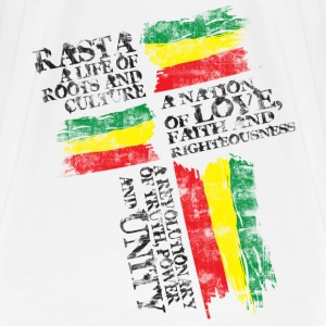 Natural rasta life2 T-Shirts - Men's Premium T-Shirt