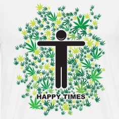 White Happy Times T-Shirts