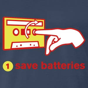 save batteries Heavyweight T-Shirt - Men's Premium T-Shirt