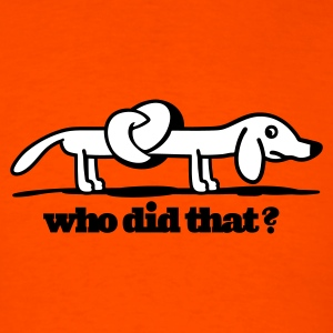 who did that? Lightweight T-Shirt - Men's T-Shirt