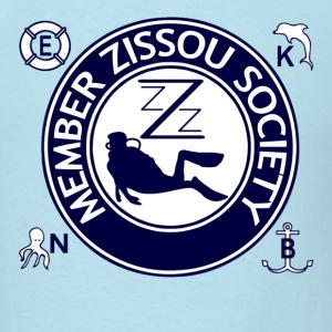 Sky blue Team Zissou Life T-Shirts - Men's T-Shirt