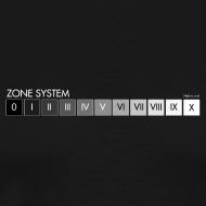 Design ~ Zone system black men's heavyweight (back + front)