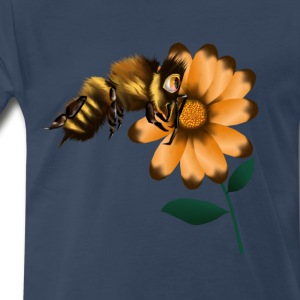 Happy Spring Bee Expressions - Men's Premium T-Shirt