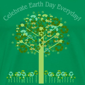 Forest green Celebrate Earth Day Everyday T-Shirts - Men's Premium T-Shirt