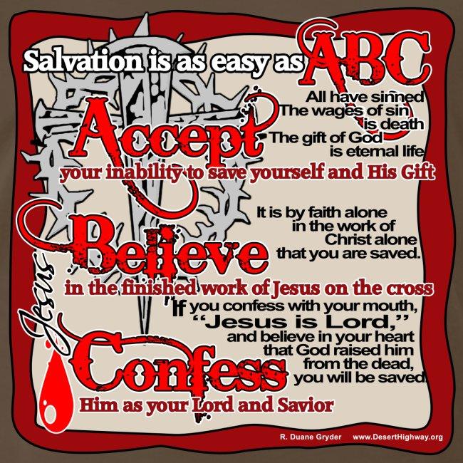 Salvation ABC Color