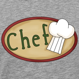 Ash  Chef T-Shirts - Men's Premium T-Shirt