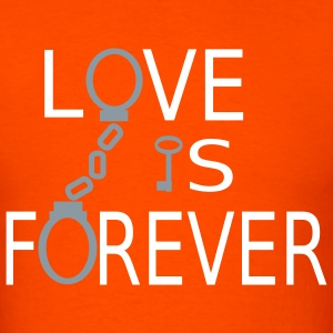 Orange Love is Forever T-Shirts - Men's T-Shirt