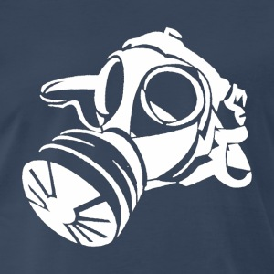 Gas Mask [white edition] - Men's Premium T-Shirt
