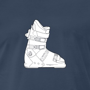 Snowboarding boot - Men's Premium T-Shirt