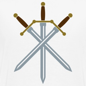 Crossed Swords T Shirt - Men's Premium T-Shirt