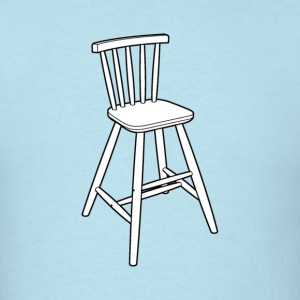 Wood stool - Men's T-Shirt