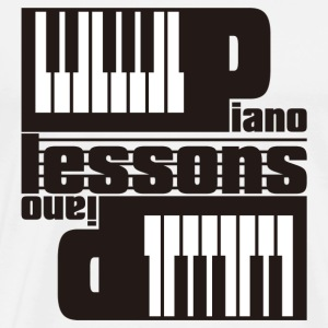 PIANO_LESSONS(DUO) - Men's Premium T-Shirt