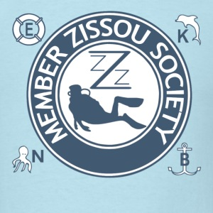 Sky blue Team Zissou Aquatic T-Shirts - Men's T-Shirt