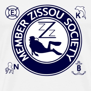 Natural Member Team Zissou T-Shirts - Men's Premium T-Shirt