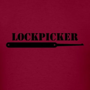 Lockpicker [black edition] - Men's T-Shirt
