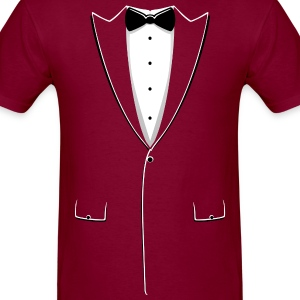 Cheap Tuxedo Durable Shirt - Men's T-Shirt