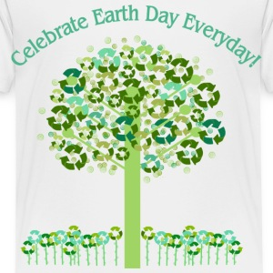White Celebrate Earth Day Everyday Toddler Shirts - Toddler Premium T-Shirt