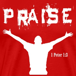 Praise- Red - Men's Premium T-Shirt
