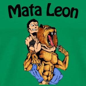 Mata Leon - Rear Naked Choke - The Lion Kill - Men's Premium T-Shirt