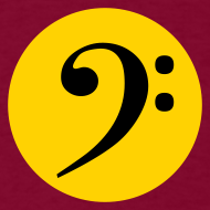 Design ~ Bass Clef in Circle
