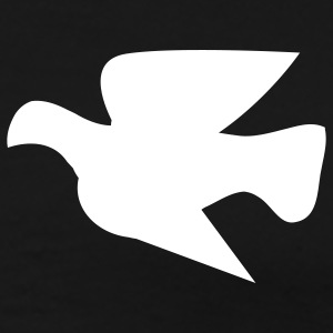 Black peace dove T-Shirts - Men's Premium T-Shirt