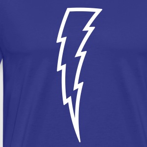 Lightning Bolt T Shirt - Men's Premium T-Shirt