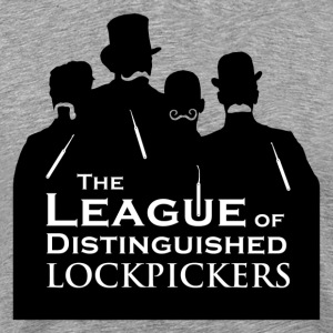 League of distinguished lockpickers [black edition] - Men's Premium T-Shirt