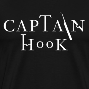 Captain Hook [white edition] - Men's Premium T-Shirt
