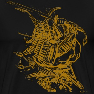 Black Golden samuria T-Shirts - Men's Premium T-Shirt