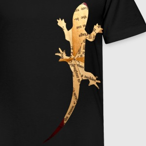 Black VINTAGE LIZARD Toddler Shirts - Toddler Premium T-Shirt