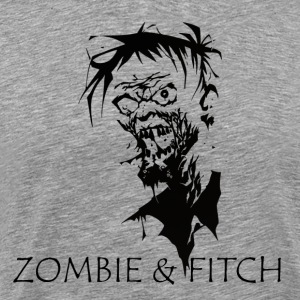Zombie [black edition] - Men's Premium T-Shirt