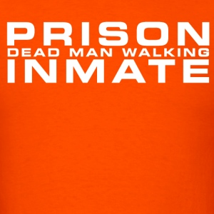 Prison inmate [white edition] - Men's T-Shirt