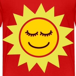Smiling Sun - Toddler Premium T-Shirt