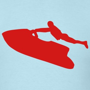 Sky blue Jet Ski T-Shirts - Men's T-Shirt