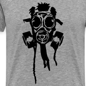 Ash  New Gas Mask T-Shirts - Men's Premium T-Shirt