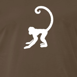 White monkey - Men's Premium T-Shirt