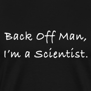 Back Off Man Drk - Men's Premium T-Shirt