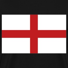 Black English Flag T-Shirts