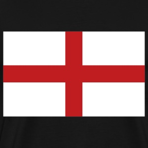 Black English Flag T-Shirts - Men's Premium T-Shirt