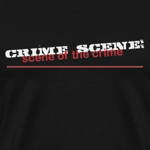 Scene of the Crime - Men's Premium T-Shirt