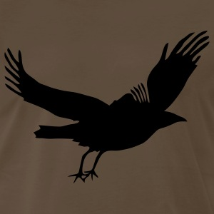 Chocolate Crow T-Shirts - Men's Premium T-Shirt
