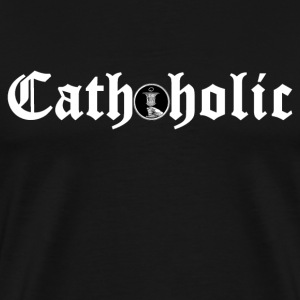 Cathoholic - Men's Premium T-Shirt