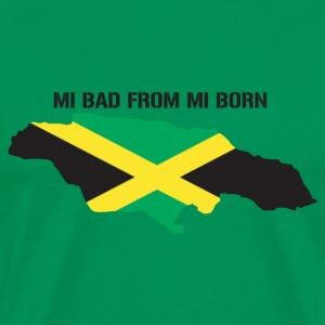 mi bad from mi born - Men's Premium T-Shirt