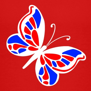 Red American butterfly Toddler Shirts - Toddler Premium T-Shirt