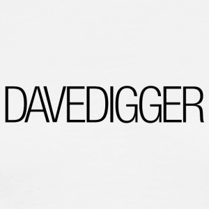 Men's White Davedigger t-shirt - Men's Premium T-Shirt