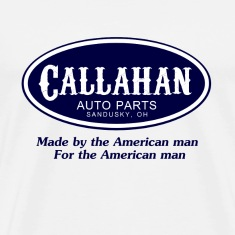 Natural Tommy Boy Callahan Auto T-Shirts