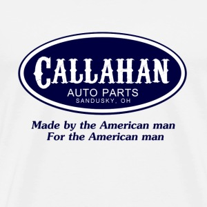 Natural Tommy Boy Callahan Auto T-Shirts - Men's Premium T-Shirt