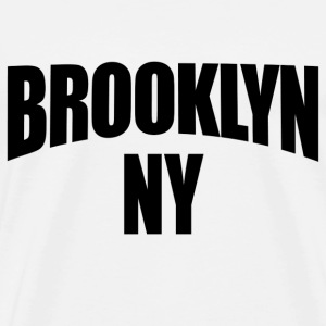 Natural Brooklyn NY New York T-Shirts - Men's Premium T-Shirt