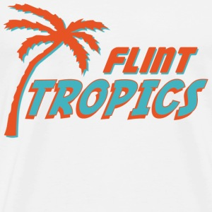 Natural Semi Pro Flint Tropics T-Shirts - Men's Premium T-Shirt