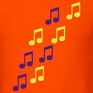Orange Notes T-Shirts - Men's T-Shirt